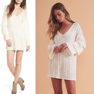 Tularosa | NWT Scout Sweater Knit Mini Dress | M